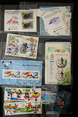Korea Hoard of Mostly Modern Stamps