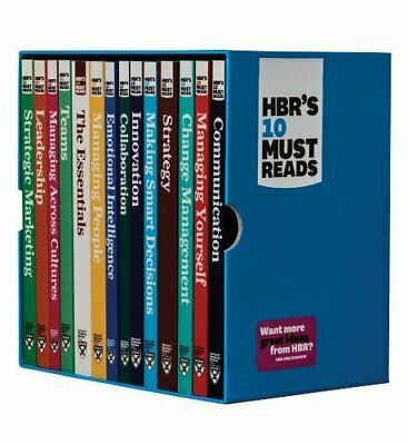 HBR's 10 Must Reads Ultimate Boxed Set (**Version_EB00k**)