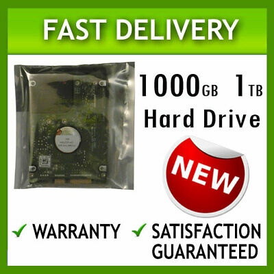 1Tb Laptop Hard Drive Hdd Disk For Msi Cr61 2M, Cr61 3M, Cr62 6M, Cr70 2M