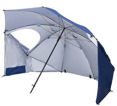 Easy-Up Umbrella Shelter Shade Protection from All weathers Camping Or Beach