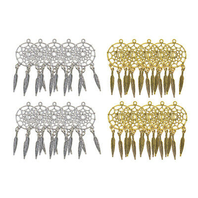 20pcs Dreamcatcher Alloy Charms Pendants Findings for Jewelry Making Craft