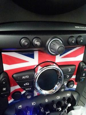 Union Jack//JCW Dashboard Panel Trim Cover For BMW MINI Cooper F55 F56 #C US U9