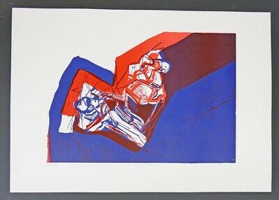 Roswitha LÜDER, Figuration 68 - FarbSerigraphie