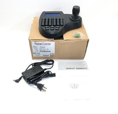 3d Keyboard Security Controller Speed Dome Camera With LCD PTZ 3axis (CMP012046)