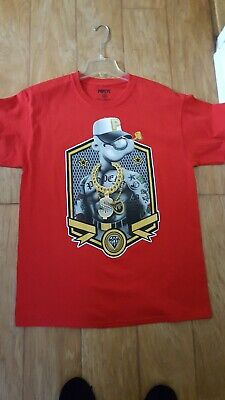 e7421ed01 POPEYE GRAPHIC T-SHIRT Tee Shirt Gangster Gold Necklace Tattoo Mens ...