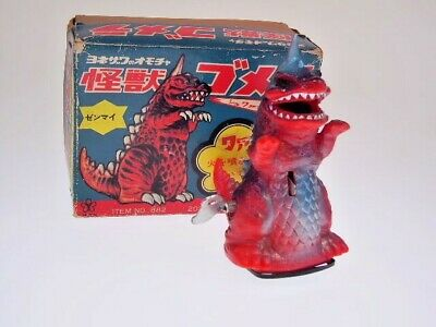 "GS JAPAN HEROES, ""GOZILLA"" 10cm, WIND UP, SPARKS, NEW/NEU/NEUF , GOOD BOX !!"