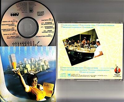 SUPERTRAMP- Breakfast in America EARLY JAPAN CD *No barcode SMOOTH CASE* CD-3708