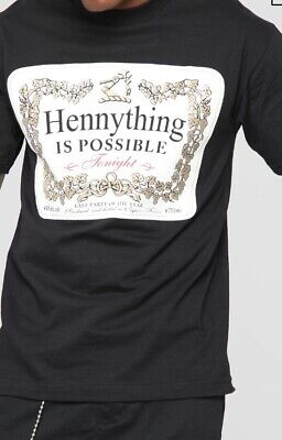 5ebe2a20 HENNYTHING IS POSSIBLE Mens Shirt Hip Hop Shirts Worldwide Rap ...