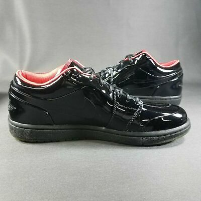 15d0481f2e5f Air Jordan 1 Phat Low Premium Prom Tux Patent Leather 365763001 Size 9 New