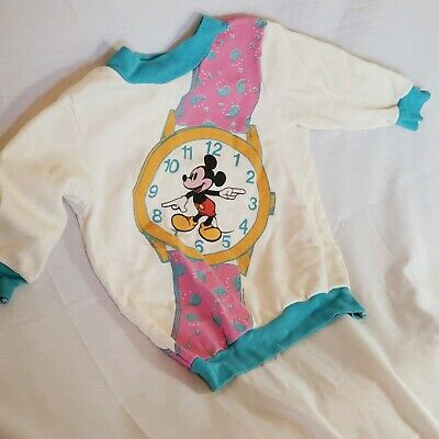Disney Jog Togs Toddler Mickey Mouse Watch Girls Top 2T/3T