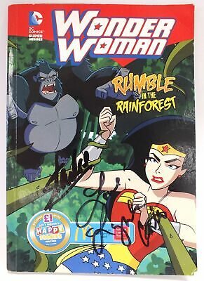 STAN LEE & LYNDA CARTER *SIGNED* Wonder Woman Rumble In The Forest Comic - W28