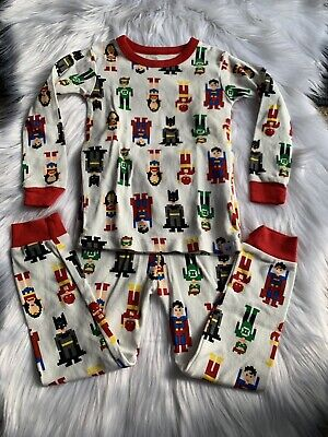Gap Kids Pajama Pj Set Toddler New 2piece Long Sleeve Justice League Size 3
