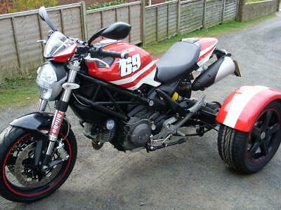 2011 Ducati monster 696 Trike. With only 4000 miles from new