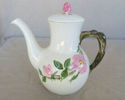 Franciscan Desert Rose Coffee Pot With Lid