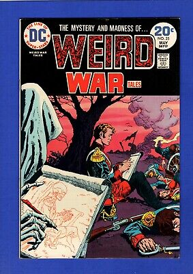 Weird War Tales #25 Vf/nm 9.0/9.2 High Grade Bronze Age Dc Horror