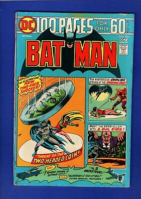Batman #258 100 Page Giant Vf+ High Grade Bronze Age (Paper Void Up Right Front)