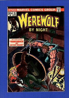 Werewolf By Night #16 Vf/nm 9.0/9.2 High Grade Bronze Age Marvel Horror