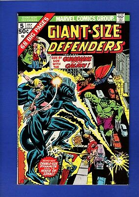 Giant-Size Defenders #5 Nm 9.4 High Grade Bronze Age Key 3Rd Guardians Of Galaxy