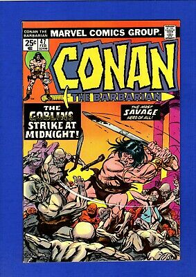 Conan #47 Nm 9.4 High Grade Bronze Age Marvel