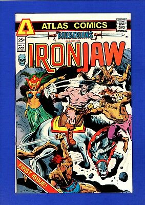 Barbarians Iron Jaw #1 Nm- 9.2 High Grade Bronze Age Atlas Key 1St Iron Jaw