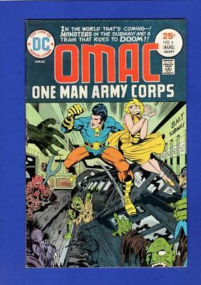 Omac #6 Vf+ High Grade Bronze Age Dc