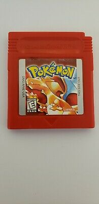 Pokemon: Red Version (Game Only) (Nintendo Game Boy, 1998)
