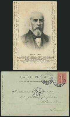 ARMAND BARBES, French Politician 1904 Old U.B. Postcard