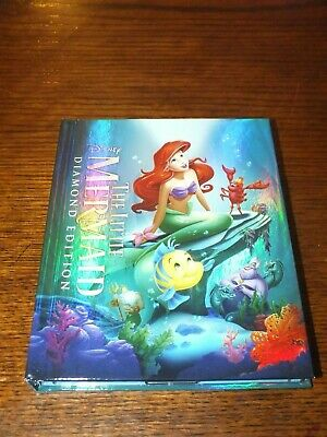 The Little Mermaid Target-exclusive Diamond Edition 2 Disc Blu-ray Digibook WoW!