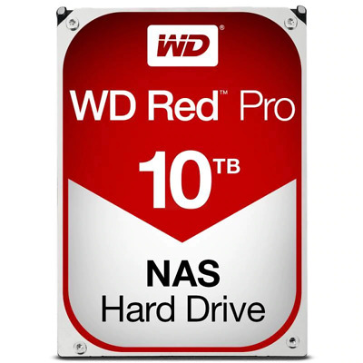 "Wd Red Pro 10Tb Nas, 256Mb, Sata3, 7200Rpm 3.5"" Hdd"