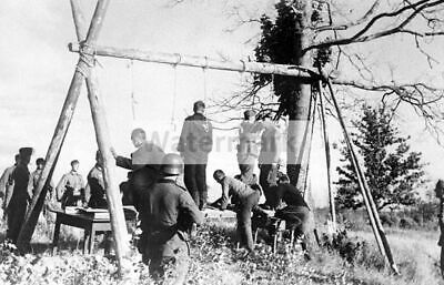 WW2 PICTURE PHOTO October 1939 German Army in Execution of
