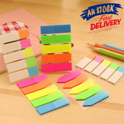 Plastic Index Tabs Flags Sticky Notes Page Marker Stickers Labels Lighter 3 Type