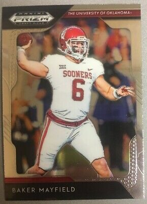 2019 Panini Prizm Draft Picks Baker Mayfield - Oklahoma Sooners Cleveland Bowns