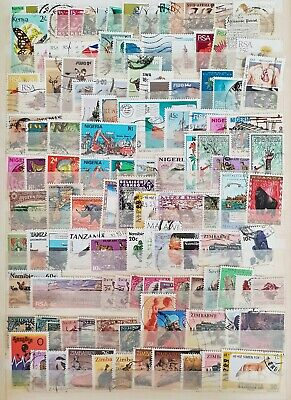 Africa Nigeria Congo Classic Mint and Used Stamps Collection Lot # 17