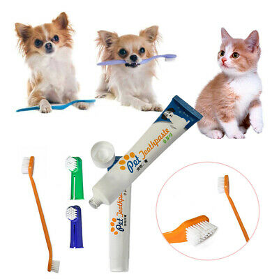 Remove Cat Dental Grooming Pet Teeth Cleaning Set Toothpaste Dog Oral Care