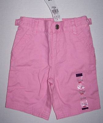 Children's Place TCP baby girl pink capri pants 100% cotton 6-9 month NWT