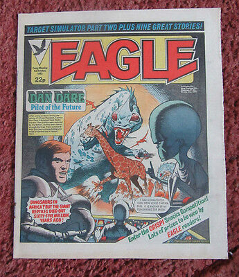 Eagle Comic. 1 October 1983. Vfn. Unsold/unread Newsagents Stock.