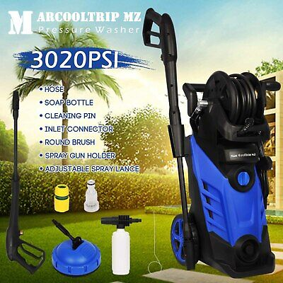 Electric Pressure Washer 3020 PSI/208 BAR Water High Power Jet Wash Patio Car