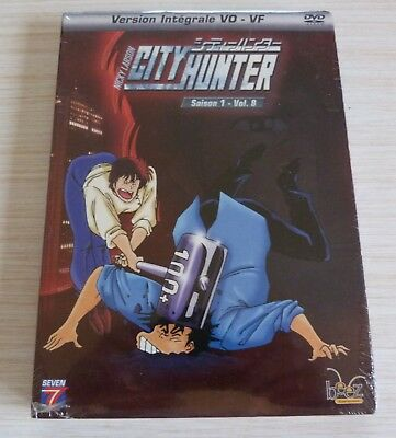 Dvd Dessin Anime Manga Nicky Larson City Hunter Saison 1 Vol 8 Neuf Sous Cello