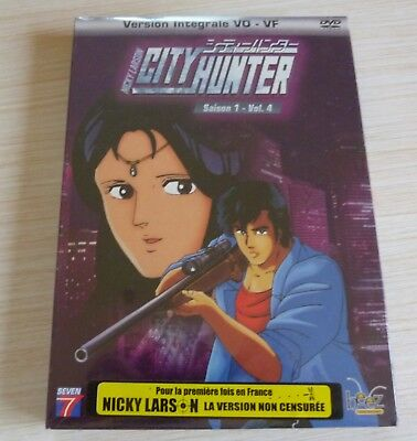 Dvd Dessin Anime Manga Nicky Larson City Hunter Saison 1 Vol 4 Neuf Sous Cello