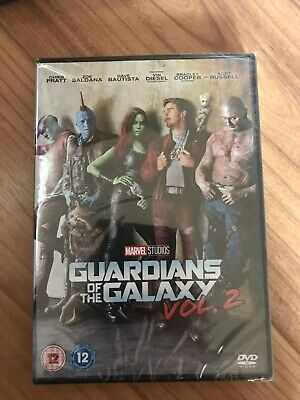 Guardians of the Galaxy Vol. 2 DVD Brand New Sealed.
