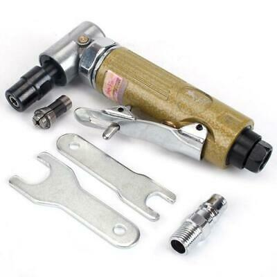 1/4'' Mini Right Air Angle Die Grinder 90 Degree Pneumatic Tool 3mm 6mm Collet