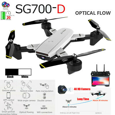 SG700-D 2.4G 4CH 6-axis Wide-angle WiFi 4K Dual Camera RC Quadcopter Drone Hover