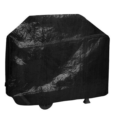 BBQ Cover Heavy Duty Barbecue Grill Outdoor Garden Protector Elasticated Hem