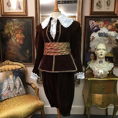 """Fantastic """"English National Opera"""" Men's Elizabethan Suit From """"Don Giovanni"""""""