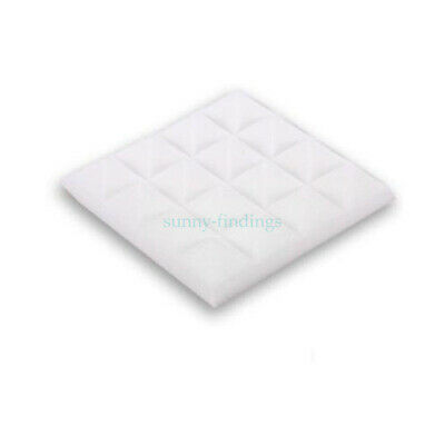 25*25*5cm White Pyramid Sound-absorption Wall Panel Soundproof /Acoustic Foam