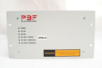 PBF IGP 2x 80W 6400Vdc Ion vacuum Getter Pump Power Supply 4022-430-07514