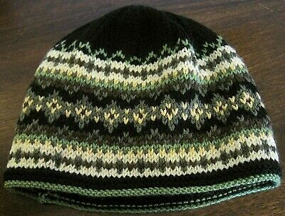 Hand Knitted Adult Xmas Hat. Superb Design And Gift Idea.