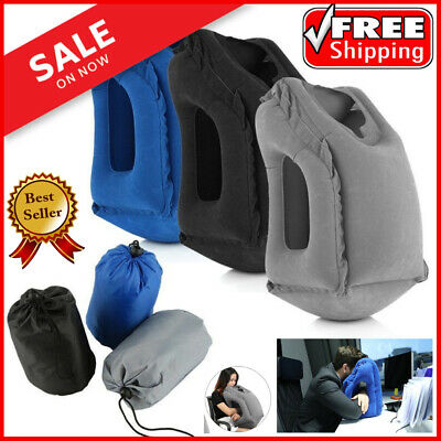 Sleepy Cloud Travel Pillow Inflatable Air Soft Cushion Trip Portable Innovative