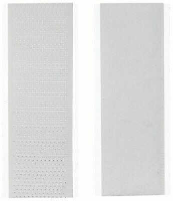"""TapeCase R1302H/L-WHITE-300 R1302H/L-White-300 Hook and Loop 1"""" x 3"""" White, 300/"""