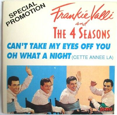 Frankie Valli And The 4 Seasons - France Only 3 Tracks Promo Single Cd